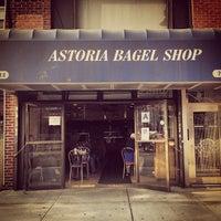 Photo taken at Astoria Bagel Shop by David F. on 10/4/2013
