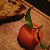 Photo taken at Dinner by Heston Blumenthal by Veronica P. on 1/24/2013
