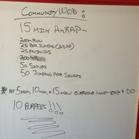 Photo taken at South Hall CrossFit by Ryan L. on 6/22/2013
