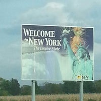 Photo taken at New York - Pennsylvania State Line by Jay S. on 10/3/2012