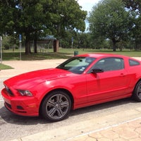 Photo taken at Park Cities Ford of Dallas by Jason H. on 2/28/2014
