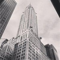 Photo taken at Chrysler Building by Francesca H. on 5/7/2013