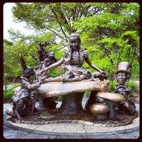 Photo taken at Hans Christian Andersen Statue by Francesca H. on 5/8/2013