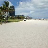 Photo taken at South Beach by E E. on 9/5/2013