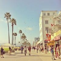 Photo taken at Venice Beach Boardwalk by Jenny J. on 10/11/2013