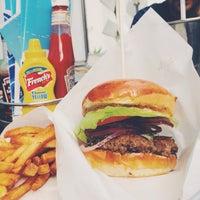 Photo taken at Surf Shack Smash Burgers by Jenny J. on 8/22/2014