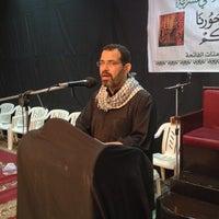 Photo taken at صالة الحسينية الاثني عشرية - بني جمرة by Mohammed A. on 4/13/2013