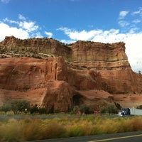 Photo taken at Arizona/New Mexico State Line by Barney R. on 9/29/2012