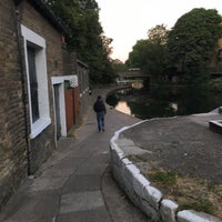 Photo taken at Old Ford Lock (Regent's Canal) by Lily L. on 6/22/2018