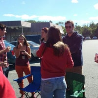 Photo taken at Rutgers Stadium Silver Lot by Mike M. on 9/14/2013
