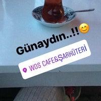 Photo taken at WOS cafe&şarküteri by Büşra Alpgan on 1/24/2017