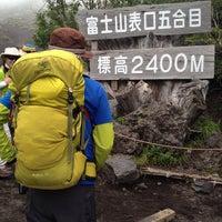8/23/2013にT_HEADSHOKが富士山 富士宮口 新五合目で撮った写真