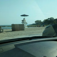 Photo taken at Southport Beach by Grimm on 8/24/2016