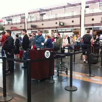 Photo taken at North Security Checkpoint by Dustin S. on 5/4/2013