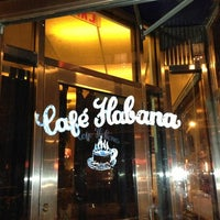 Photo taken at Café Habana by Taewon L. on 1/27/2013