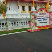 Photo taken at Wat Mongkoltepmunee (Thai Buddhist Temple) by Eric W. on 11/1/2015