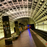 Photo taken at Fort Totten Metro Station by Alex K. on 11/26/2012
