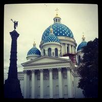 Снимок сделан в Троице-Измайловский Собор пользователем Анастасия А. 10/2/2012