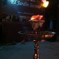 Photo taken at El Jardín Secreto - Lounge Bar by Nikolay A. on 11/30/2012