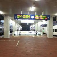 Photo taken at Platforms 3-4 by kei c. on 10/29/2012