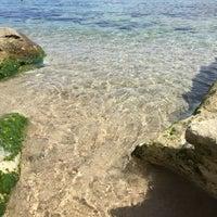 Photo taken at Capo Testa Spiaggia di Levante by Paolo V. on 8/17/2016