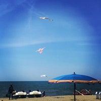 Photo taken at Lido Beach Spiaggia Libera Lido Di Camaiore by Paolo V. on 6/10/2017