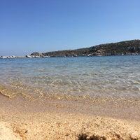 Photo taken at Capo Testa Spiaggia di Levante by Paolo V. on 8/21/2015