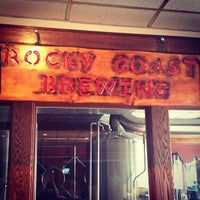 Photo taken at Rocky Coast Brewing at Post Road Tavern by Jena B. on 6/16/2013