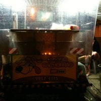 Photo taken at Magno Hot Dog by Marcos #. on 2/2/2013