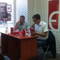 Photo taken at Книгарня «Є» by olha i. on 6/14/2013