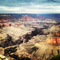 Photo taken at Grand Canyon National Park (South Rim) by Marta B. on 7/27/2013