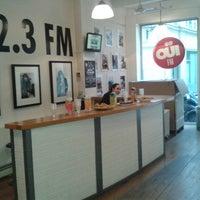 Photo taken at Ouï FM by Florent D. on 4/26/2013