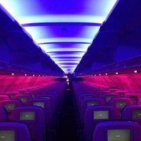 Photo taken at Virgin America by Paul M. on 5/8/2013