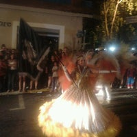 Photo taken at Praça Tiradentes by Claudio W. on 2/10/2013