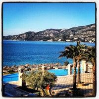 Photo taken at Club Hotel Casino Loutraki by Olga T. on 1/13/2013