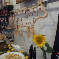 Photo taken at Antica Macelleria Cecchini by Nerina D. on 7/18/2013