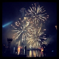 Photo taken at IllumiNations: Reflections of Earth by Jay D. on 12/24/2012