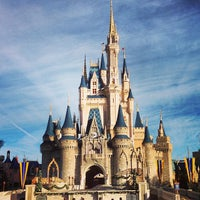 Photo taken at Cinderella Castle by Jay D. on 12/23/2012