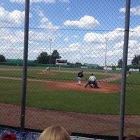 Das Foto wurde bei Baseballfield Stuttgart Reds von Oliver Z. am 6/14/2014 aufgenommen