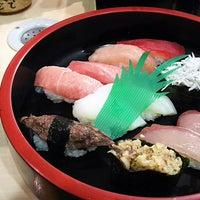 6/10/2018に∠疾風(はやて)が回転寿司 海鮮で撮った写真