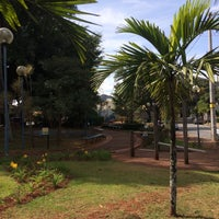 Photo taken at Praça Arquiteto Ney Werneck by Claudia on 6/17/2018