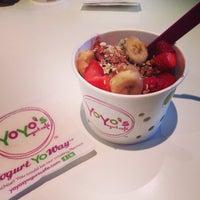 Photo taken at Yoyo's Yogurt Cafe by Cynthia C. on 5/27/2014