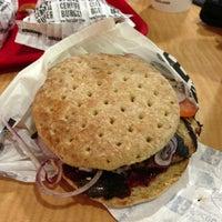 Photo taken at Hero Certified Burgers by Cynthia C. on 1/31/2013