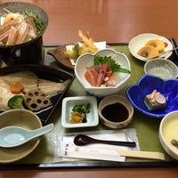 Photo taken at 湯村温泉 旅館 魚と屋 by @ あ. on 12/4/2013