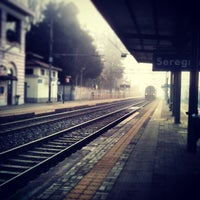 Photo taken at Stazione Seregno by riccardo p. on 1/29/2013