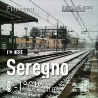 Photo taken at Stazione Seregno by riccardo p. on 2/11/2013