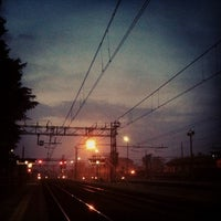 Photo taken at Stazione Seregno by riccardo p. on 2/23/2013