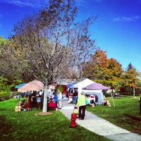 Photo taken at Meridian Township Farmer's Market by Joshua P. on 9/29/2012