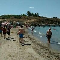 Photo taken at Sarıkız Sahil Plajı by Bülent A. on 7/7/2016