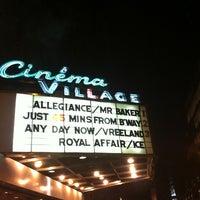 Photo taken at Cinema Village by Maureen M. on 1/2/2013